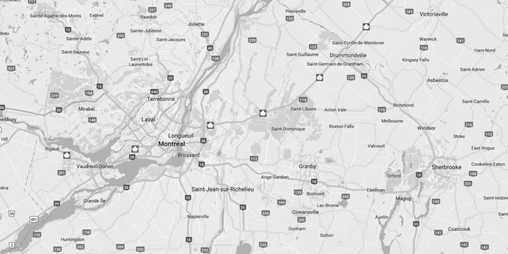 Carte des services de Design avec Panache